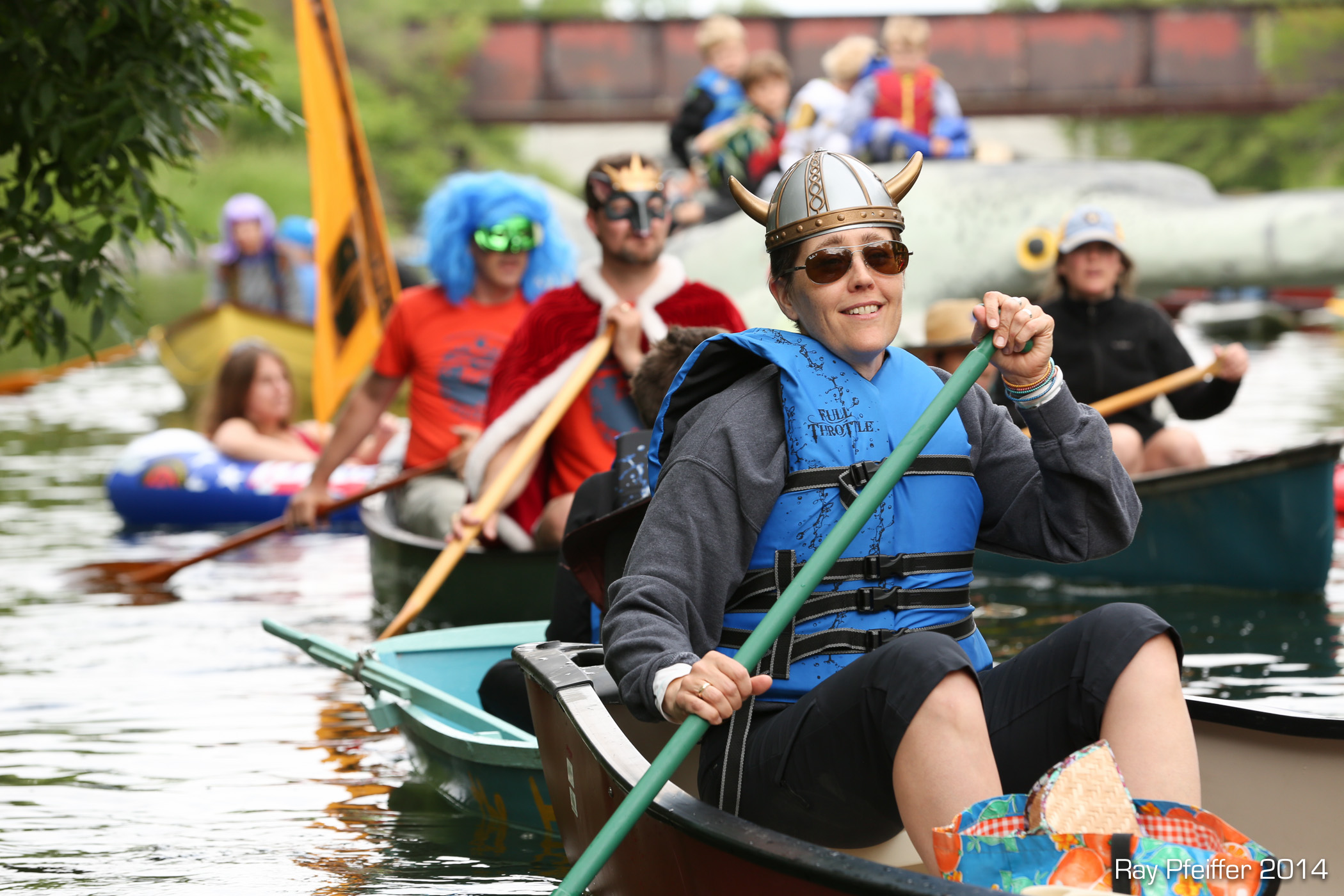 Nordic fool on the Yahara River